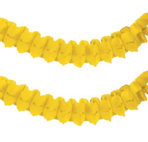 Sunshine Yellow Paper Garland