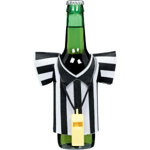 Referee Shirt Jersey Bottle Coozie