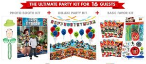 Toy Story Ultimate Party Kit for 16 Guests
