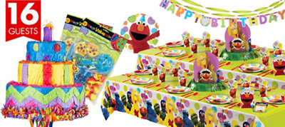 Elmo Party Ultimate Party Kit