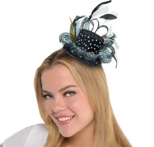 Mini Hollywood Top Hat Headband
