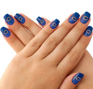 Chicago Bears Nail Tattoos 20ct