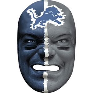 Detroit Lions Fan Face Mask