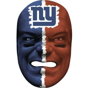New York Giants Fan Face Mask