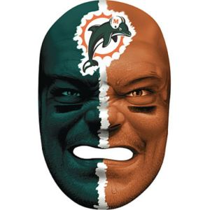 Miami Dolphins Fan Face Mask