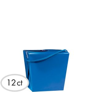 Royal Blue Favor Boxes 12ct