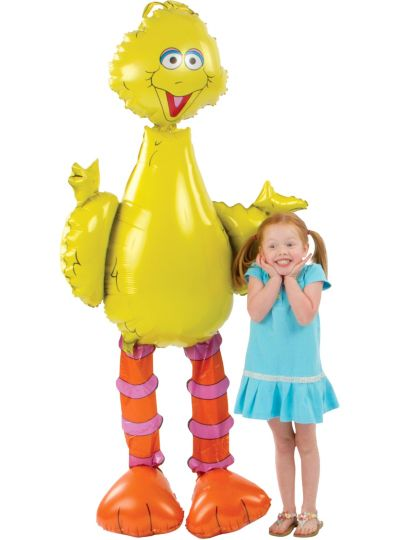 Giant Gliding Big Bird Balloon 62in