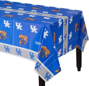 Kentucky Wildcats Plastic Table Cover