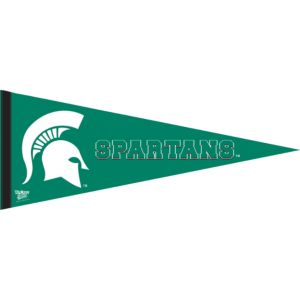 Michigan State Spartans Pennant Flag