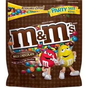 Milk Chocolate M&M's Party Bag