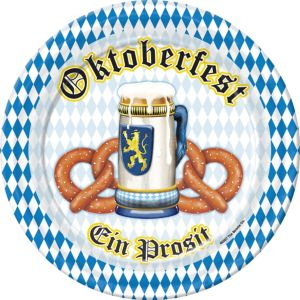 Oktoberfest Lunch Plates 8ct