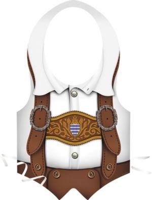 Oktoberfest Lederhosen Vest