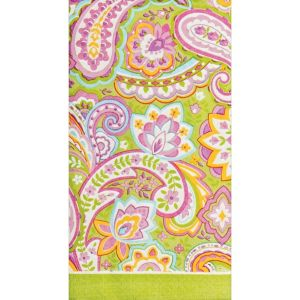Pretty Paisley Guest Towels 16ct