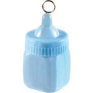 Pastel Blue Baby Bottle Balloon Weight 6oz
