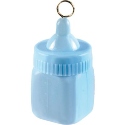 Pastel Blue Baby Bottle Balloon Weight 6oz