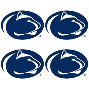 Penn State Nittany Lions Face Tattoos 4ct