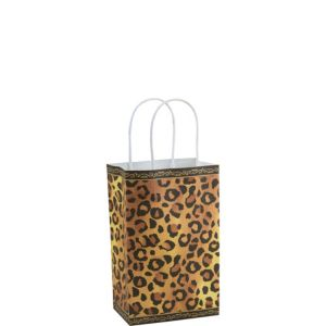 Cheetah Print Mini Gift Bag