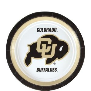 Colorado Buffaloes Dessert Plates 12ct
