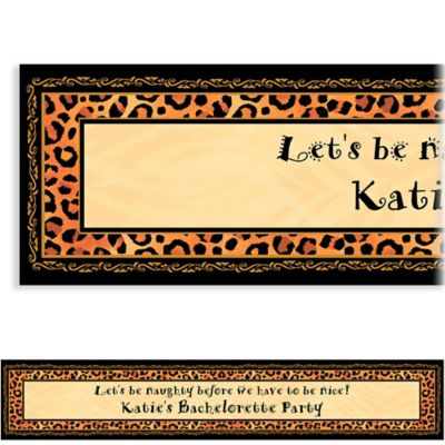 Safari Chic Custom Banner
