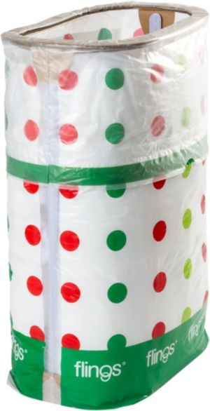 Holiday Party Flings® Pop-Up Trash Bin