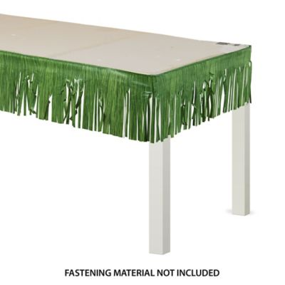 Luau Table Fringe