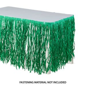 Green Grass Table Skirt