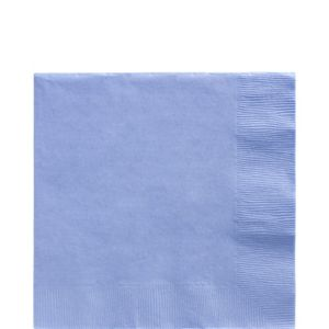 Big Party Pack Pastel Blue Lunch Napkins 125ct