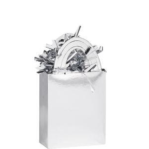 Silver Mini Tote Balloon Weight 5.7oz