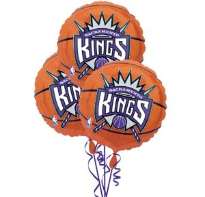 Sacramento Kings Balloons 3ct - Basketball