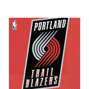 Portland Trail Blazers Lunch Napkins 16ct
