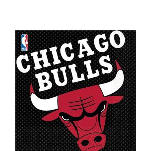Chicago Bulls Lunch Napkins 16ct