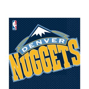 Denver Nuggets Lunch Napkins 16ct