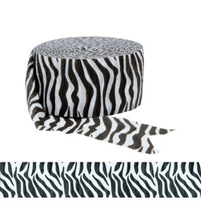 Zebra Print Streamer