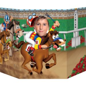 Life-Size Derby Day Photo Cutout