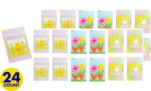 Easter and Springtime Activity Pads 24ct