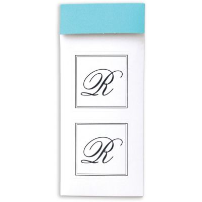 Monogram Envelope Seals R 30ct