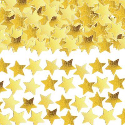 Mini Gold Star Confetti