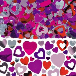 Lots of Hearts Confetti