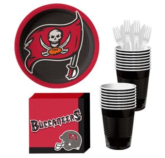 Tampa Bay Buccaneers Basic Party Kit for 18 Guests