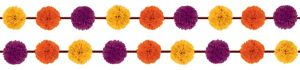 Fall Fluffy Garland 2ct