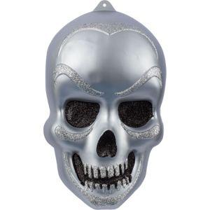 Vacuform Glitter Skull Decoration