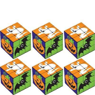 Halloween Puzzle Cubes 6ct