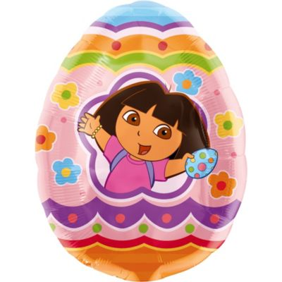 Foil Egg Hunt Adventure Dora Balloon