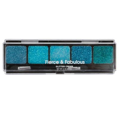 Blue Glitter Eye Cream