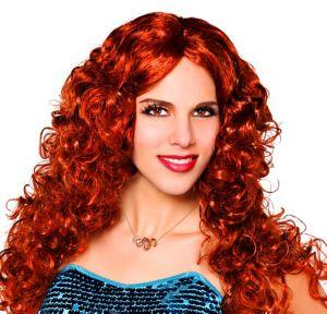 Fiery Waves Auburn Wig