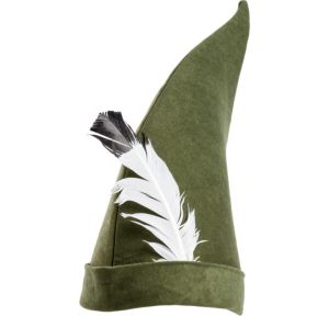 Feathered Elf Hat