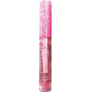Pink Glitter Lip Gloss