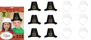 Pilgrim Hat Craft Kit for 12