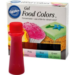 Gel Icing Color Set 1.2oz