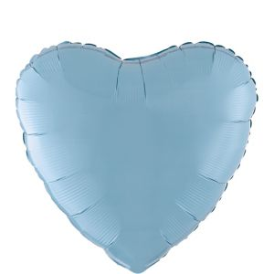 Pastel Blue Heart Balloon